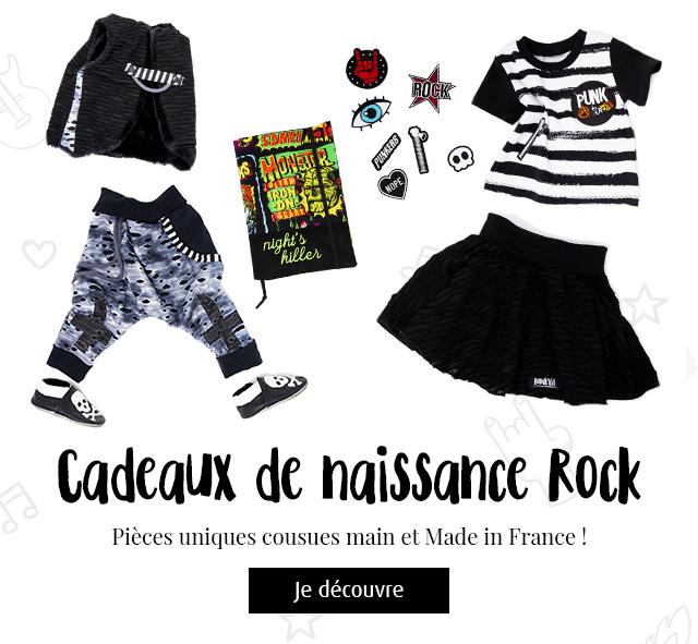 Vêtements et accessoires bébé cousus main et Made in France !